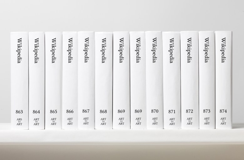 You can soon buy a 7,471-volume printed version of Wikipedia for $500,000