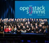 At the OpenStack Summit in Portland in April 2013.