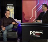 Head of Microsoft's Xbox division Phil Spencer onstage at the PC Gaming Show during the 2015 Electronic Entertainment Expo in Los Angeles, Calif.