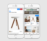 A buyable pin on Pinterest on iOS.