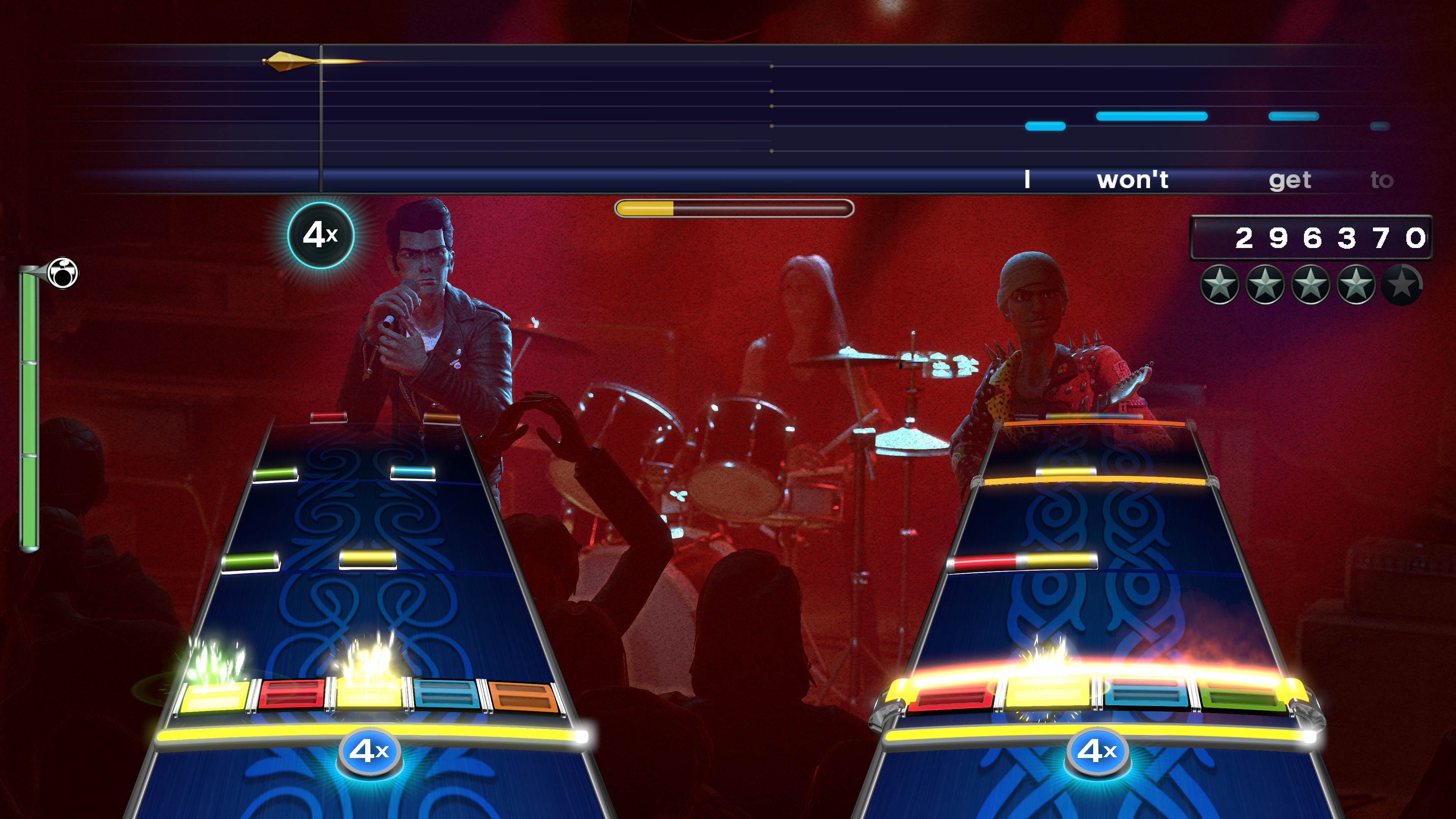 Yup, sure is Rock Band.