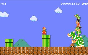 No, not Super Mario Maker -- although, Nintendo should release a speedrun mode update for that game!