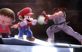 Ryu in Smash 4.
