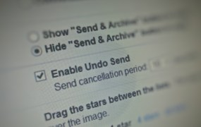 Undo Send: Gmail