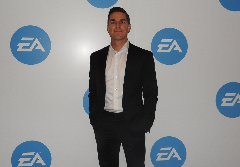 Andrew Wilson, CEO of Electronic Arts.