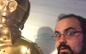 C-3PO and me.