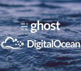 Ghost and DigitalOcean, sitting in a ... cloud?