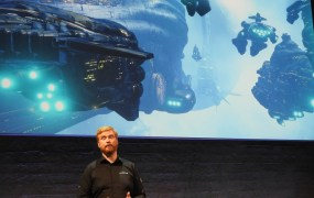 Hilmar Veigar Pétursson and CCP are big fans of VR.