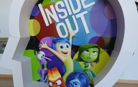 Inside Out is Pixar's new film. Disney is also making a mobile game based on it.