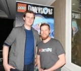 Doug Heder, producer at Warner Bros. Interactive Entertainment, and  Mark Warburton, associate producer at TT Games