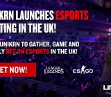 Unikrn lets you bet on e-sports games.