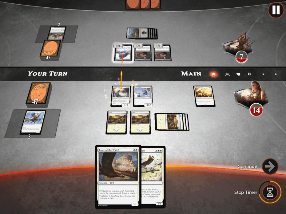 Magic Duels: Origins on iPhone.