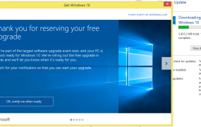 """My Windows 8.1 machine still says """"Notify me when ready"""" and yet I'm downloading Windows 10. Here's how."""