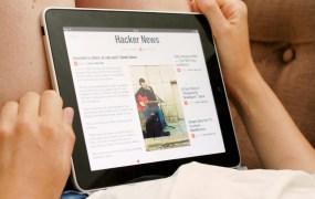 Flipboard on iPad, circa 2010.
