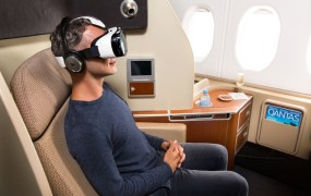 Qantas is offering Samsung's Gear VR platform to passengers.