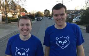 GitLab cofounders Dmitriy Zaporozhets and Sytse 'Sid' Sijbrandij.