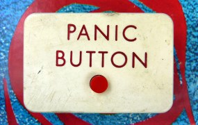 Press here to panic.