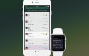 Scout Ahead for both iPhone and Apple Watch.