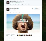 A still from one of Mountain Dew's autoplay clips running on Twitter (image c/o Adweek).
