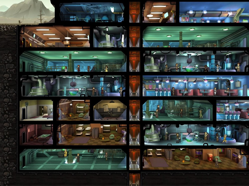 My Vault in Fallout Shelter has some dead bodies in it.