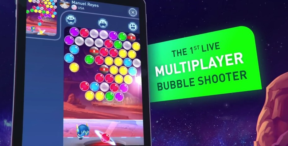 bubble shooter multiplayer