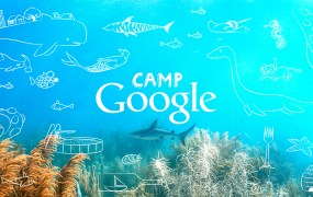 Screenshot of Ocean Week at Camp Google