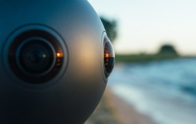 Nokia's Ozo virtual reality camera.