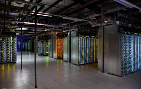 Inside a Google data center in The Dalles, Ore.