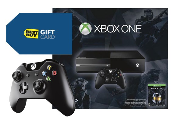 Xbox One Halo Master Chief 500GB Bundle with Extra Controller & Best Buy Gift Card