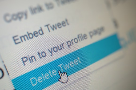 Twitter: Delete Tweet