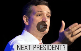Could this be our next President? A screenshot from a Fox News promo for the first GOP debate.