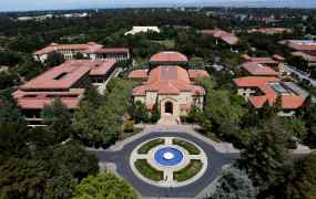 Stanford University's campus is seen from atop Hoover Tower in Stanford, California May 9, 2014. Picture taken May 9, 2014.  To match Special Report USA-STARTUPS/STANFORD      REUTERS/Beck Diefenbach (UNITED STATES - Tags: EDUCATION BUSINESS SCIENCE TECHNOLOGY) - RTR4HHTM