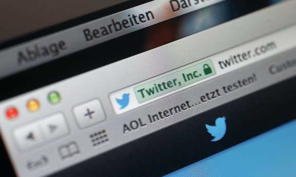 An illustration picture shows the search tab for Twitter on a computer screen in Frankfurt.