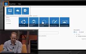 A video of Microsoft executive Bill Baer showing off the IT preview of SharePoint Server 2016.