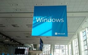 At Microsoft's Build developer conference in San Francisco in April 2015.