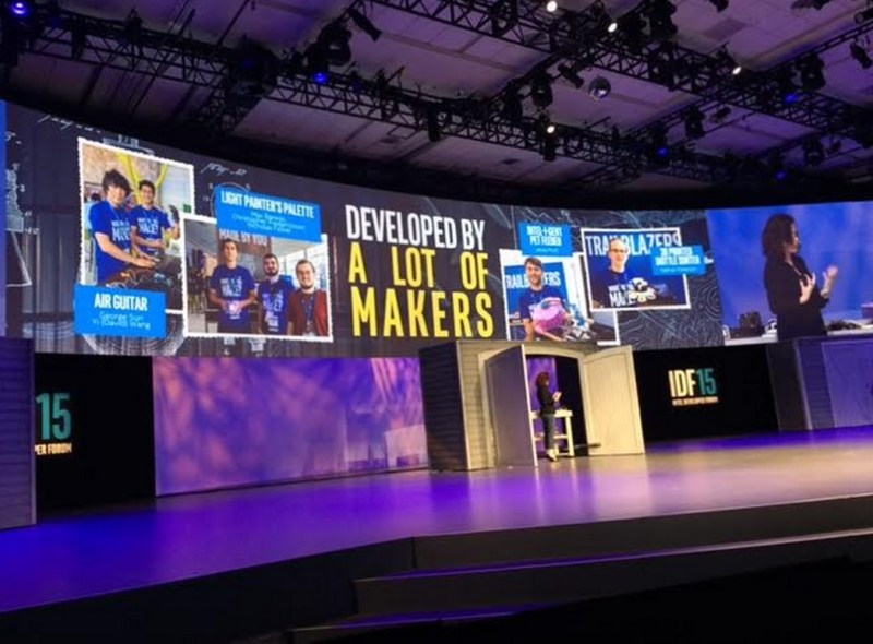 Genevieve Bell celebrates makers at IDF.