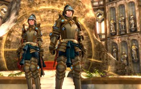 Guild Wars 2 is going free, and these royal guard outfits are as well.