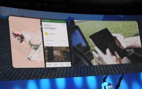 FarmLogs shows off its app for farmers at the Intel Developer Forum.