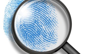 thumbprint magnifying glass