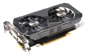 Zotac graphics card with Nvidia's GeForce GTX 950 graphics chip.