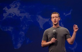Facebook chief executive Mark Zuckerberg addresses developers at the company's F8 conference on March 25, 2015.