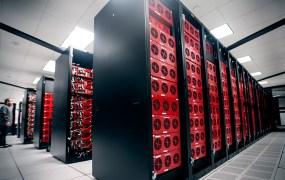 Backblaze's storage pods in its data center in Rancho Cordova, Calif.