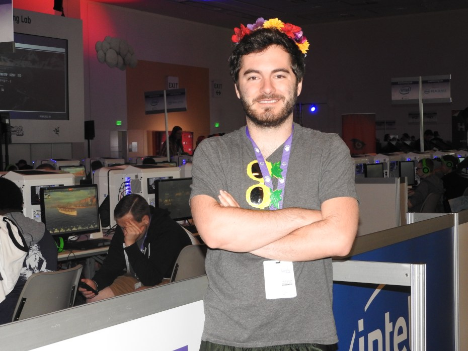 "Jordon ""CaptainSparklez"" Maron makes a living as a game broadcaster."