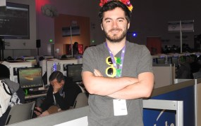 "Jordon ""CaptainSparklez"" Maron makes a living as a game broadcaster."