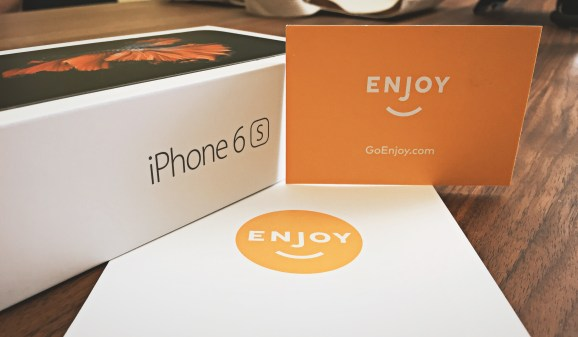 Enjoy delivers an iPhone 6S to VentureBeat