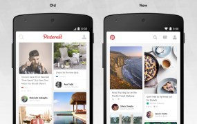 Pinterest on Android.