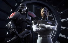 Governor Adelhard and his enforcer, the Purge Trooper Commander Bragh, are the Empire in Star Wars: Uprising.