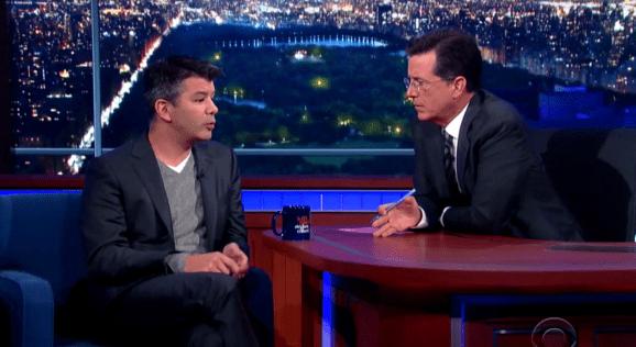 Travis Kalanick: The Late Show