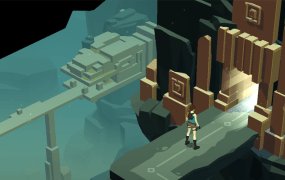 Lara Croft Go Temple Entrance