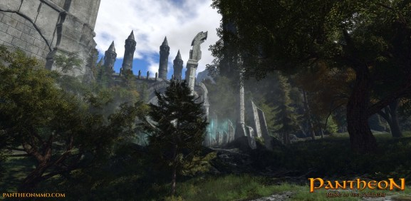 Pantheon: Rise of the Fallen is an upcoming MMO from Visionary Realms.